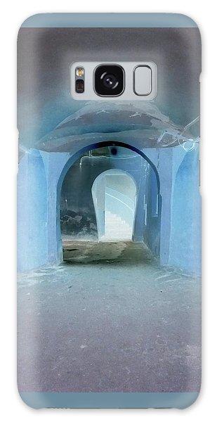 Secret Passage Galaxy Case by Tetyana Kokhanets