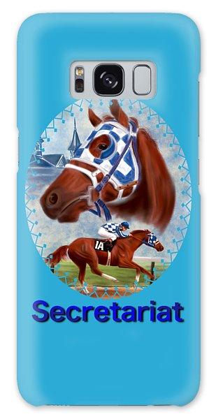 Secretariat Racehorse Portrait Galaxy Case