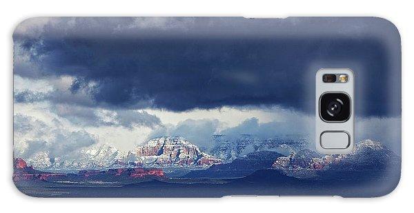 Sedona Area Third Winter Storm Galaxy Case