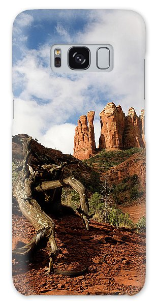Sedona Red Rocks No. 01 Galaxy Case
