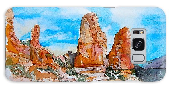 Sedona Red Rocks Galaxy Case by Sharon Mick