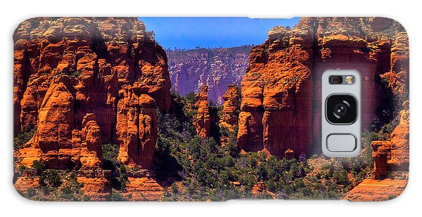 Sedona Rock Formations II Galaxy Case by David Patterson