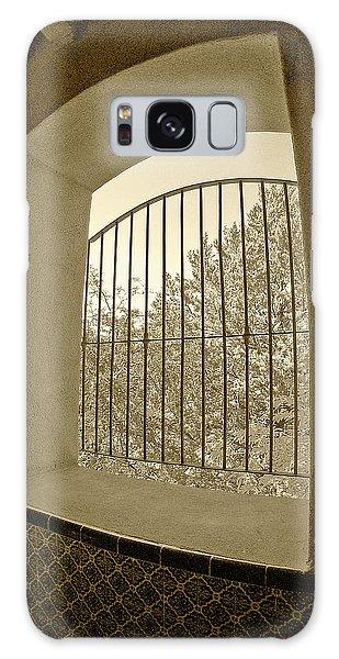 Sedona Series - Through The Window Galaxy Case by Ben and Raisa Gertsberg