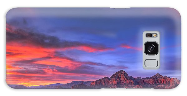 Sedona Sunset Galaxy Case