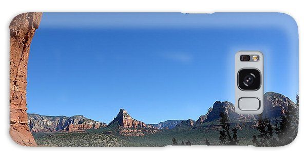 Sedona View From Cave Galaxy Case