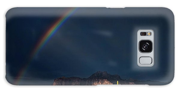 Galaxy Case featuring the photograph Seeking That Pot Of Gold  by Saija Lehtonen