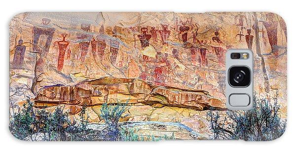 Sego Canyon Indian Petroglyphs And Pictographs Galaxy Case