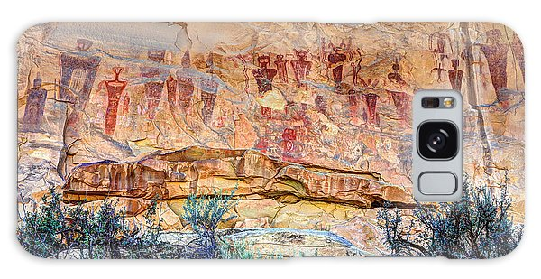 Sego Canyon Indian Petroglyphs And Pictographs Galaxy Case