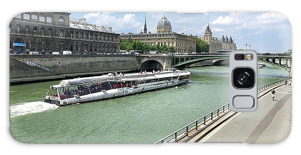 River Seine In Paris Galaxy Case