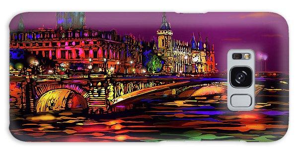 Seine, Paris Galaxy Case by DC Langer