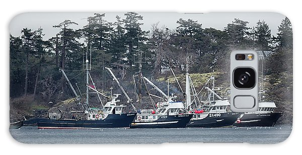 Seiners In Nw Bay Galaxy Case by Randy Hall