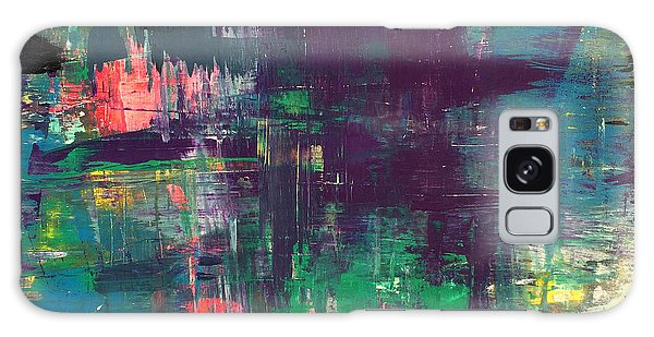 Seize The Day 48x48 Print Abstract Painting Modern Art Original Galaxy Case