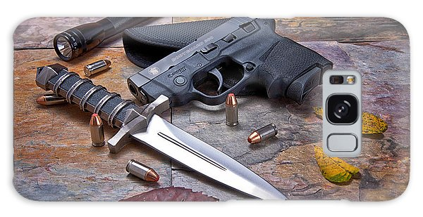 Guns Galaxy Case - Self Defense Still Life by Tom Mc Nemar
