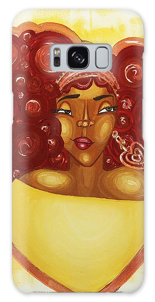 Galaxy Case featuring the painting Self Love by Aliya Michelle