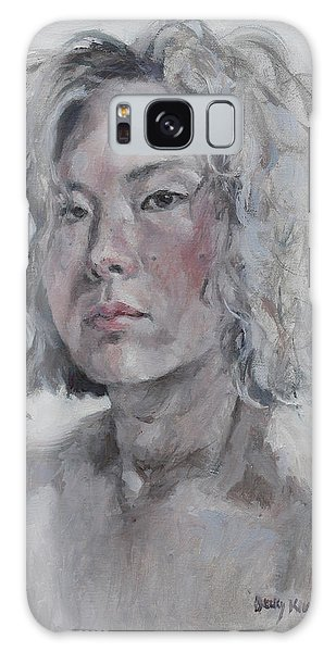 Self Portrait 1501 Galaxy Case by Becky Kim