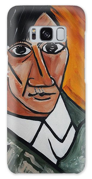 Self Portrait Of Picasso Galaxy Case
