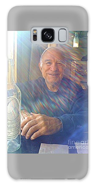 Rights Managed Images Galaxy Case - Self Portrait One - Light Through The Window by Felipe Adan Lerma