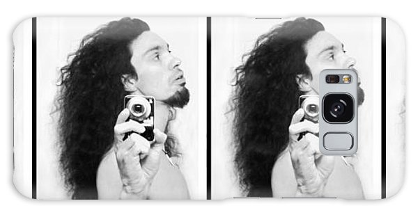 Galaxy Case featuring the photograph Self Portrait Progression Of Self Deception by Shawn Dall