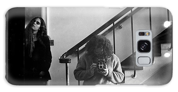 Self-portrait, With Woman, In Mirror, Full Frame, 1972 Galaxy Case