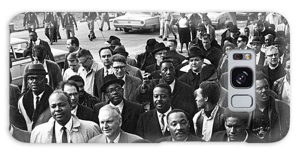 Martin Luther Galaxy Case - Selma To Montgomery March by Underwood Archives