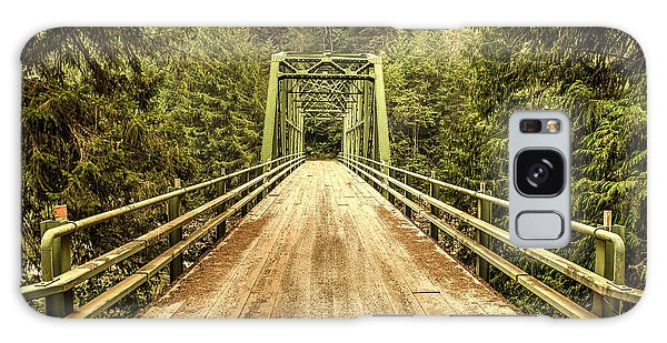 Selway River Bridge Galaxy Case