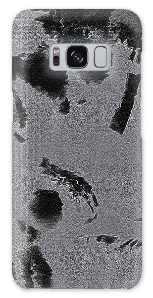 Semi-nude Original Abstract Art Cowboy Galaxy Case