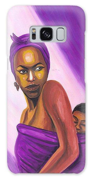 Senegalese Woman Galaxy Case by Emmanuel Baliyanga