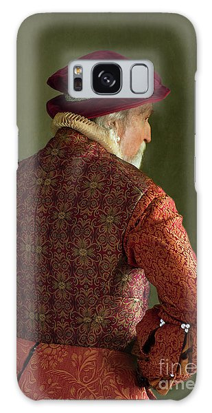 Senior Tudor Man Galaxy Case by Lee Avison