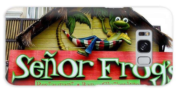 Senor Frogs Galaxy Case
