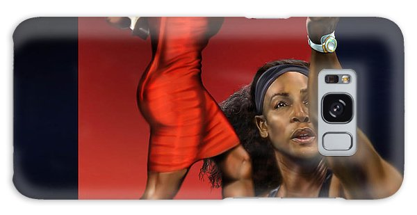 Sensuality Under Extreme Power - Serena The Shape Of Things To Come Galaxy Case