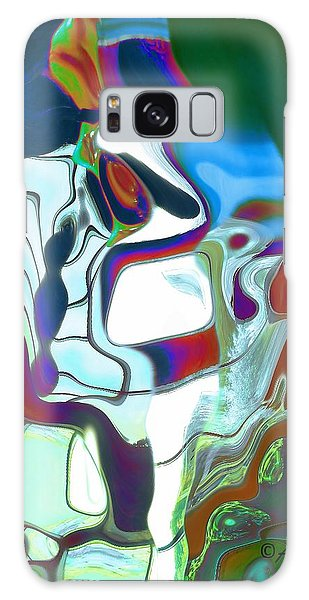 Sentinel Galaxy Case by Alika Kumar