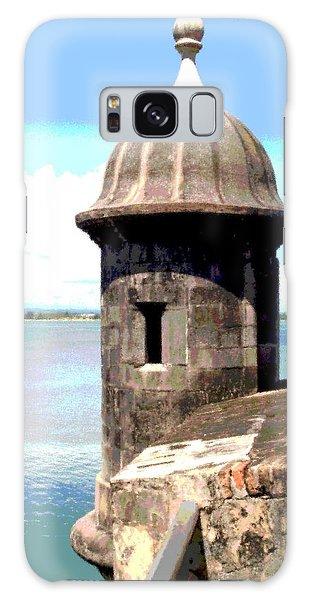 Sentry Box In El Morro Galaxy Case by The Art of Alice Terrill