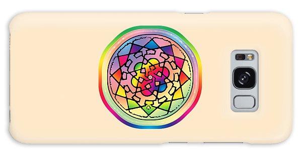 Sephardic Medieval Mandala Galaxy Case