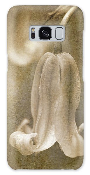 Bluebell Galaxy Case - Sepia Bluebell by Meirion Matthias