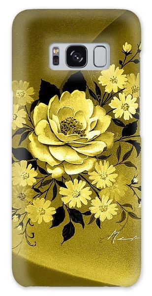 Sepia Bouquet Galaxy Case