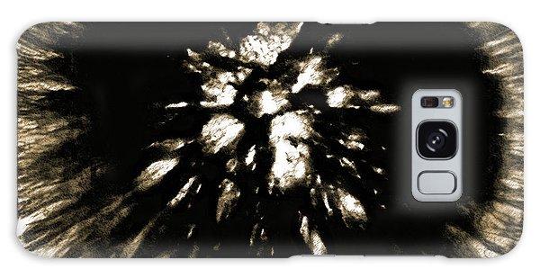 Sepia Dandelion Galaxy Case