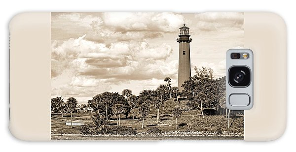 Sepia Lighthouse Galaxy Case
