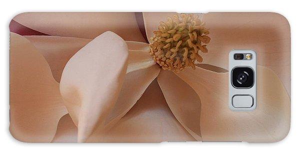 Sepia Magnolia Macro Galaxy Case