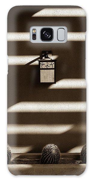 Sepia Stucco Shadows Galaxy Case