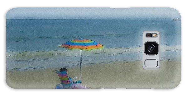 September Beach Reader Galaxy Case