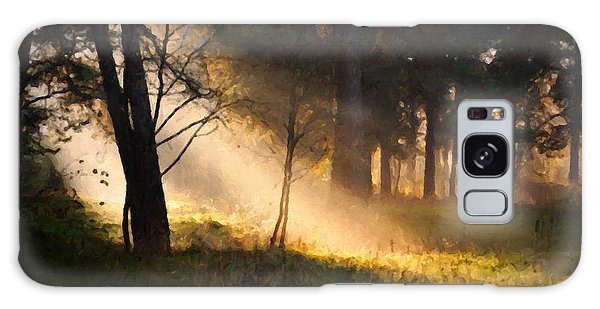Galaxy Case featuring the painting September Impressions by Rosario Piazza