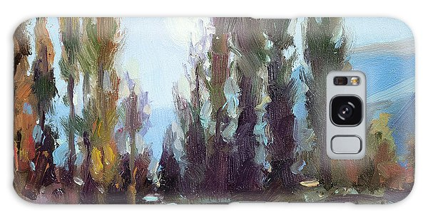 Impressionism Galaxy Case - September Moon by Steve Henderson