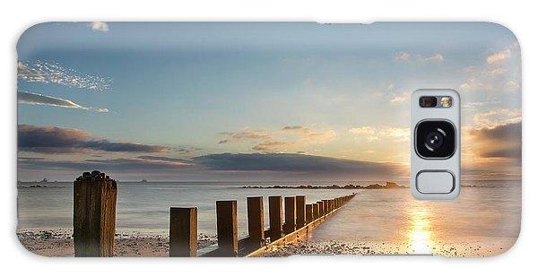 September Sunrise At Aberdeen Beach Galaxy Case