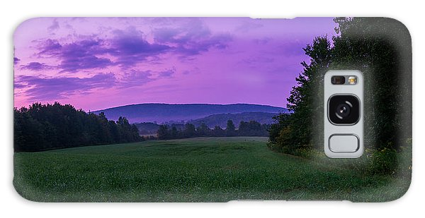 September Twilight Galaxy Case by Chris Bordeleau