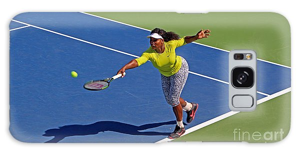 Serena Williams 1 Galaxy Case by Nishanth Gopinathan