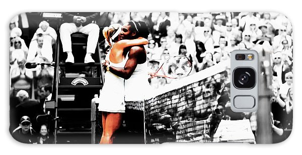 Serena Williams And Angelique Kerber 1a Galaxy Case by Brian Reaves