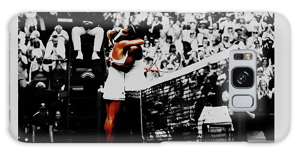Serena Williams And Angelique Kerber Galaxy Case by Brian Reaves