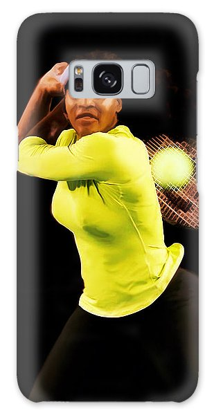 Serena Williams Bamm Galaxy Case by Brian Reaves
