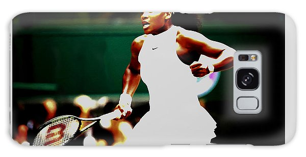 Serena Williams Making History Galaxy Case by Brian Reaves