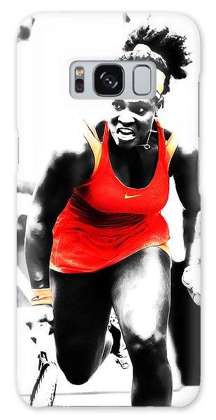 Serena Williams Go Get It Galaxy Case